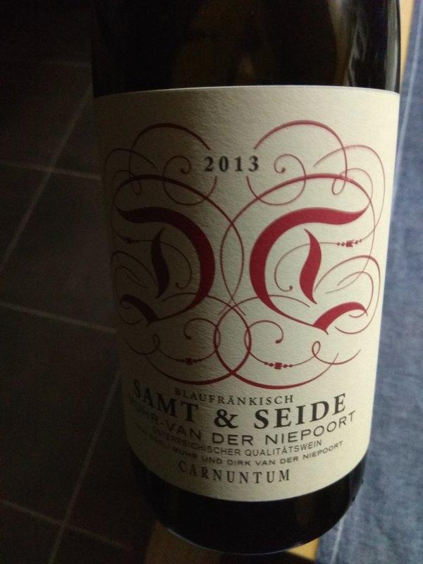 Samt Und Seide samt seide 2013 wine4people