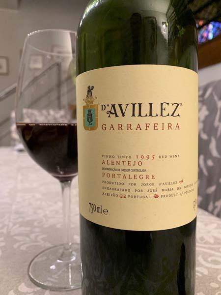D'Avillez Garrafeira 1995